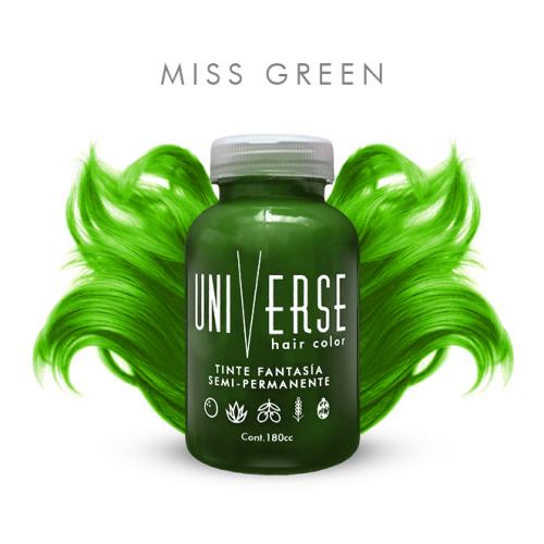 cabello verde guason wason green esmeralda esmerald hair colorful fantasia venezuela pigmento